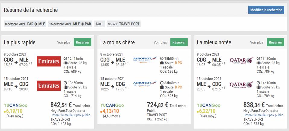 Les émissions CO2 : un argument clé dans la vente d'un billet d'avion ?